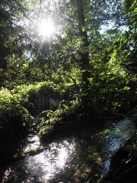 soleil et eau